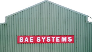 The BAE Systems plant in Brough, Hull