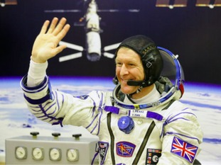 Tim Peake is currently on the International Space Station