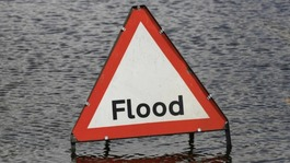 Flooding hits the Anglia region