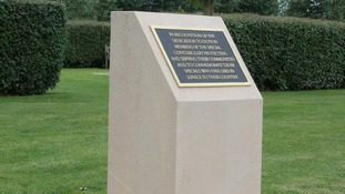 New memorial for Special Constabulary unveiled at National Memorial Arboretum