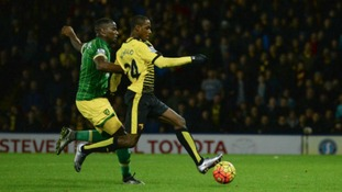 Watford won the first meeting between the two sides earlier this season 2-0.