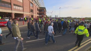 Last year's derby at the Stadium of Light