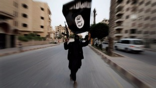 An Islamic State militant with an American passport has reportedly been captured