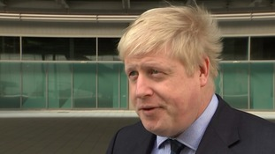 Boris: 'Irony' in US dictating to UK on sovereignty
