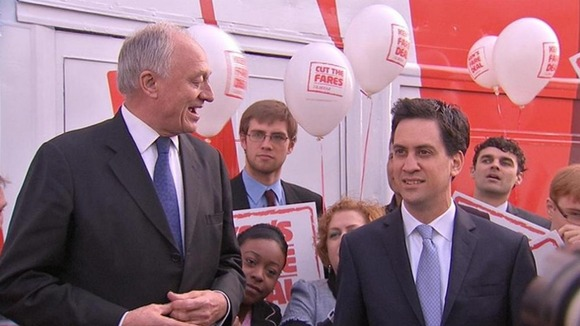 Ken Livingstone, Ed Milliband