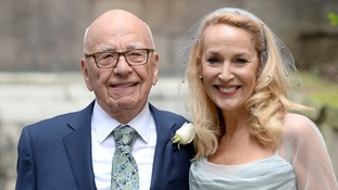 Jerry Hall shares picture of full Murdoch-Hall brood for the first time