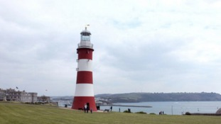 Plymouth's iconic Smeaton Tower