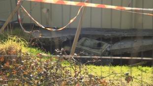 90m deep mineshaft appears in back garden