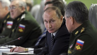 Putin orders start of military withdrawal from Syria