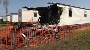 Family left homeless after mobile home destroyed by fire