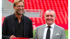 Ayres with Klopp