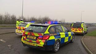 Road traffic police.