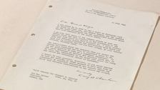 The letter from General Eisenhower.