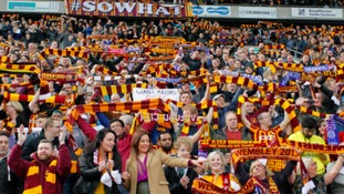 Off The Post Blog: Bradford City fans believe once again