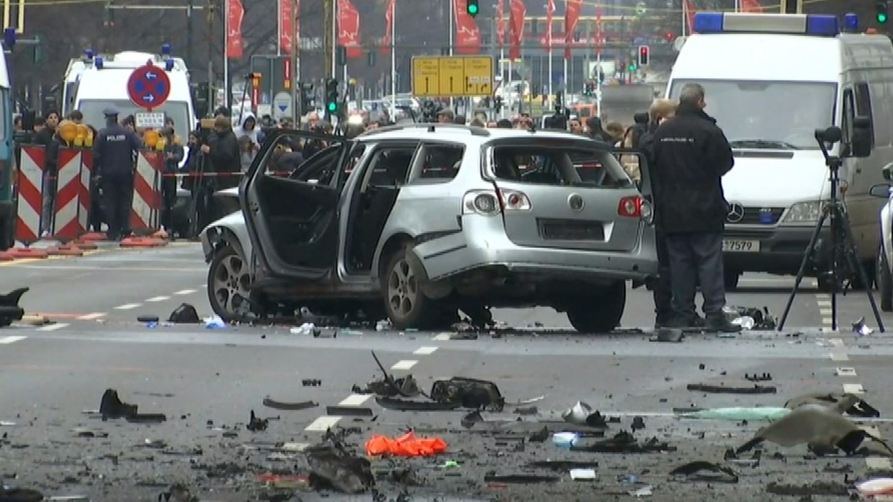 'Car Bomb' Explodes In Berlin, Killing Driver