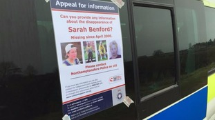Appeal posters have been put up across Northamptonshire.