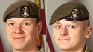 Tributes to Soldiers killed in Afghanistan