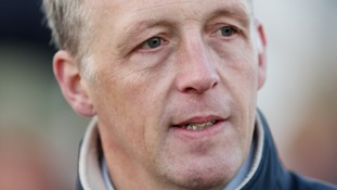 Trainer David Pipe at Chepstow Racecourse in 2014.