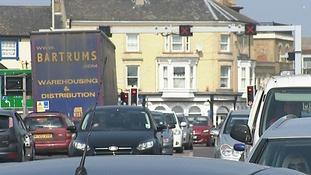 Congestion is a big issue in Lowestoft.