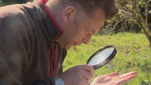 Chris Packham in Harlow.