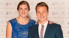 Rebecca Adlington and former partner Harry