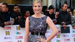 Rebecca Adlington arriving for The Pride of Britain Awards 2015