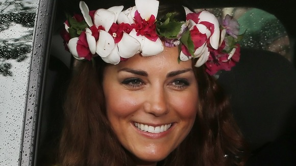 The Duchess of Cambridge visits the Cultural Village in the Solomon Islands
