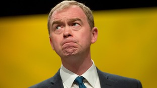 Tim Farron has warned of 'more years of pain and cuts'.