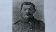 Private Robert Bailey who fought in the Battle of the Somme