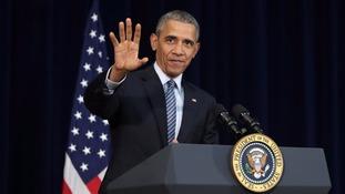 US President Barack Obam