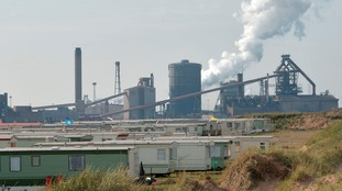 Redcar's former steelworks