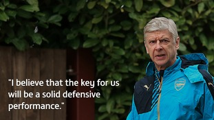 Arsene Wenger believes strong defensive performance holds key to progress in Barcelona