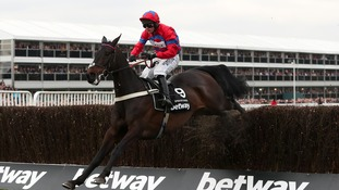 Sprinter Sacre battles back from fibrillating heart to defy the odds and make Cheltenham Festival history