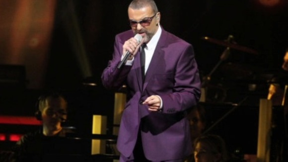 George Michael performs during his &#x27;Symphonica&#x27; tour in Vienna