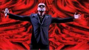 George Michael, in concert