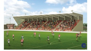 Plans for Exeter Stadium