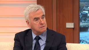 Labour's Shadow Chancellor John McDonnell