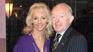 Debbie McGee and Paul Daniels arrive at the Tric Awards in 2009