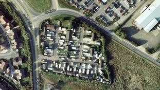 Google map image of Oxney Road Caravan Park