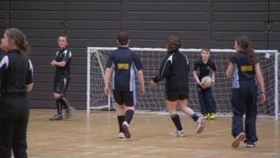 Students kick off Carlisle football festival