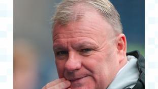 Head coach Steve Evans