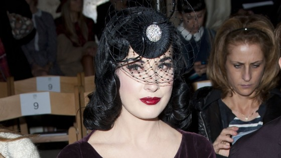 Lady Gaga London Fashion Week Philip Treacy