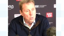Harry Redknapp at today's conference