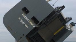 Critical report into grounding of massive cargo ship