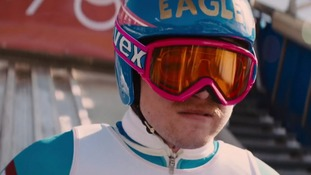 Eddie 'the Eagle' Edwards in the new Hollywood film