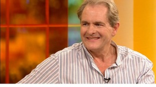 Downton Abbey's Robert Bathurst on the Daybreak sofa with Lorraine