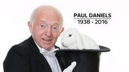 TV magician Paul Daniels dies aged 77