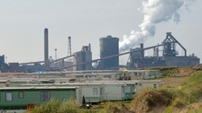 SSI Steelworks in Redcar