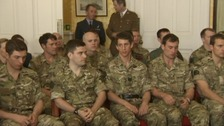 Four Midland soldiers honoured for their bravery