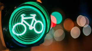Cycle traffic light